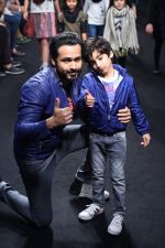 Emraan Hashmi walk the ramp for The Hamleys Show styled by Diesel Show at Lakme Fashion Week 2016 on 28th Aug 2016 (540)_57c3c7b0b7bd2.JPG