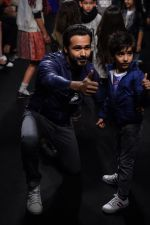 Emraan Hashmi walk the ramp for The Hamleys Show styled by Diesel Show at Lakme Fashion Week 2016 on 28th Aug 2016 (596)_57c3c8d6c0666.JPG
