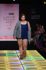 Model walk the ramp for Little Shilpa Show at Lakme Fashion Week 2016 on 28th Aug 2016 (314)_57c3c35cd8ddd.JPG