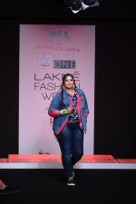 Model walk the ramp for Little Shilpa Show at Lakme Fashion Week 2016 on 28th Aug 2016 (325)_57c3c37135837.JPG