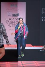 Model walk the ramp for Little Shilpa Show at Lakme Fashion Week 2016 on 28th Aug 2016 (327)_57c3c377ac03e.JPG