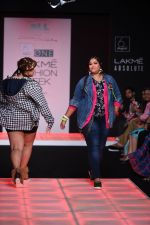 Model walk the ramp for Little Shilpa Show at Lakme Fashion Week 2016 on 28th Aug 2016 (331)_57c3c389a255f.JPG