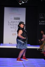 Model walk the ramp for Little Shilpa Show at Lakme Fashion Week 2016 on 28th Aug 2016 (377)_57c3c3dd76df2.JPG