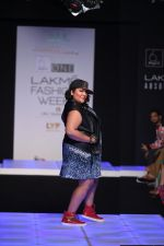 Model walk the ramp for Little Shilpa Show at Lakme Fashion Week 2016 on 28th Aug 2016 (378)_57c3c3decdfd0.JPG