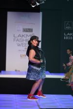Model walk the ramp for Little Shilpa Show at Lakme Fashion Week 2016 on 28th Aug 2016 (379)_57c3c3e09094f.JPG