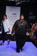 Model walk the ramp for Little Shilpa Show at Lakme Fashion Week 2016 on 28th Aug 2016 (419)_57c3c41c95d24.JPG