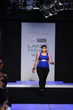 Model walk the ramp for Little Shilpa Show at Lakme Fashion Week 2016 on 28th Aug 2016 (427)_57c3c42788395.JPG