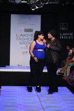 Model walk the ramp for Little Shilpa Show at Lakme Fashion Week 2016 on 28th Aug 2016 (431)_57c3c42d13f31.JPG