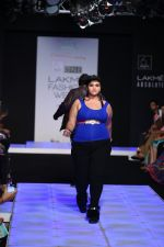 Model walk the ramp for Little Shilpa Show at Lakme Fashion Week 2016 on 28th Aug 2016 (434)_57c3c430748a4.JPG