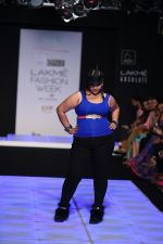 Model walk the ramp for Little Shilpa Show at Lakme Fashion Week 2016 on 28th Aug 2016 (443)_57c3c43cc0656.JPG