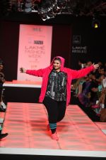 Model walk the ramp for Little Shilpa Show at Lakme Fashion Week 2016 on 28th Aug 2016 (456)_57c3c44db8f05.JPG
