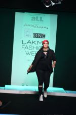 Model walk the ramp for Little Shilpa Show at Lakme Fashion Week 2016 on 28th Aug 2016 (481)_57c3c474b212f.JPG