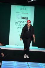 Model walk the ramp for Little Shilpa Show at Lakme Fashion Week 2016 on 28th Aug 2016 (484)_57c3c4785ab89.JPG