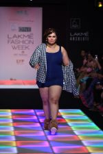 Model walk the ramp for Little Shilpa Show at Lakme Fashion Week 2016 on 28th Aug 2016 (316)_57c3c35fbe740.JPG