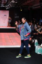 Model walk the ramp for Little Shilpa Show at Lakme Fashion Week 2016 on 28th Aug 2016 (341)_57c3c3a0b0c32.JPG