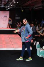 Model walk the ramp for Little Shilpa Show at Lakme Fashion Week 2016 on 28th Aug 2016 (342)_57c3c3a29dd9e.JPG