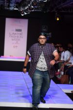 Model walk the ramp for Little Shilpa Show at Lakme Fashion Week 2016 on 28th Aug 2016 (349)_57c3c3ad7aaea.JPG