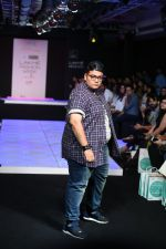 Model walk the ramp for Little Shilpa Show at Lakme Fashion Week 2016 on 28th Aug 2016 (353)_57c3c3b4bdd91.JPG
