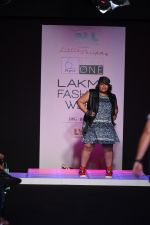 Model walk the ramp for Little Shilpa Show at Lakme Fashion Week 2016 on 28th Aug 2016 (355)_57c3c3b7afc79.JPG