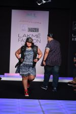 Model walk the ramp for Little Shilpa Show at Lakme Fashion Week 2016 on 28th Aug 2016 (358)_57c3c3bc83e57.JPG