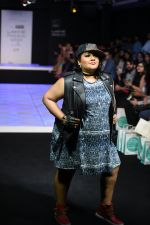 Model walk the ramp for Little Shilpa Show at Lakme Fashion Week 2016 on 28th Aug 2016 (370)_57c3c3d265b61.JPG