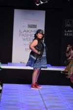 Model walk the ramp for Little Shilpa Show at Lakme Fashion Week 2016 on 28th Aug 2016 (373)_57c3c3d7c655b.JPG
