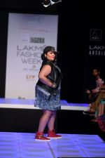 Model walk the ramp for Little Shilpa Show at Lakme Fashion Week 2016 on 28th Aug 2016 (376)_57c3c3dc26d64.JPG
