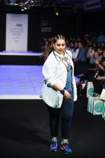 Model walk the ramp for Little Shilpa Show at Lakme Fashion Week 2016 on 28th Aug 2016 (414)_57c3c41621507.JPG
