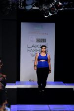 Model walk the ramp for Little Shilpa Show at Lakme Fashion Week 2016 on 28th Aug 2016 (425)_57c3c424d6689.JPG