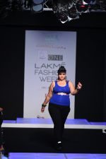 Model walk the ramp for Little Shilpa Show at Lakme Fashion Week 2016 on 28th Aug 2016 (430)_57c3c42bc6eaa.JPG