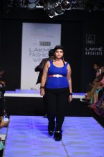 Model walk the ramp for Little Shilpa Show at Lakme Fashion Week 2016 on 28th Aug 2016 (435)_57c3c4326e9c0.JPG
