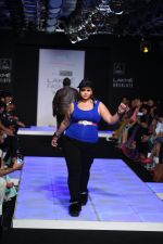 Model walk the ramp for Little Shilpa Show at Lakme Fashion Week 2016 on 28th Aug 2016 (438)_57c3c4372e22d.JPG