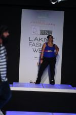 Model walk the ramp for Little Shilpa Show at Lakme Fashion Week 2016 on 28th Aug 2016 (451)_57c3c44677c81.JPG