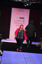 Model walk the ramp for Little Shilpa Show at Lakme Fashion Week 2016 on 28th Aug 2016 (455)_57c3c44b77fd2.JPG