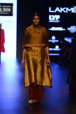 Model walk the ramp for Payal Khandwala Show at Lakme Fashion Week 2016 on 28th Aug 2016 (106)_57c3c622e989b.JPG