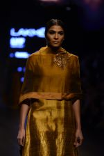 Model walk the ramp for Payal Khandwala Show at Lakme Fashion Week 2016 on 28th Aug 2016 (113)_57c3c646da96f.JPG