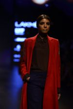 Model walk the ramp for Payal Khandwala Show at Lakme Fashion Week 2016 on 28th Aug 2016 (125)_57c3c68200fa8.JPG