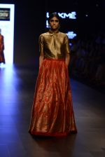 Model walk the ramp for Payal Khandwala Show at Lakme Fashion Week 2016 on 28th Aug 2016 (141)_57c3c6cf54cd2.JPG