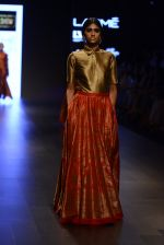 Model walk the ramp for Payal Khandwala Show at Lakme Fashion Week 2016 on 28th Aug 2016 (143)_57c3c6d849f90.JPG