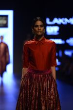 Model walk the ramp for Payal Khandwala Show at Lakme Fashion Week 2016 on 28th Aug 2016 (219)_57c3c84312bd2.JPG
