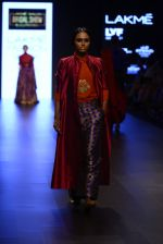 Model walk the ramp for Payal Khandwala Show at Lakme Fashion Week 2016 on 28th Aug 2016 (250)_57c3c8d4844eb.JPG
