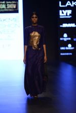 Model walk the ramp for Payal Khandwala Show at Lakme Fashion Week 2016 on 28th Aug 2016 (369)_57c3ca4356918.JPG