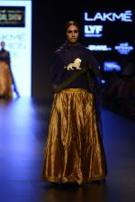 Model walk the ramp for Payal Khandwala Show at Lakme Fashion Week 2016 on 28th Aug 2016 (79)_57c3c5966b660.JPG
