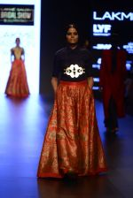 Model walk the ramp for Payal Khandwala Show at Lakme Fashion Week 2016 on 28th Aug 2016 (130)_57c3c6982424a.JPG