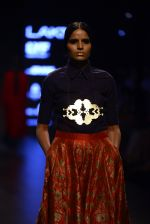 Model walk the ramp for Payal Khandwala Show at Lakme Fashion Week 2016 on 28th Aug 2016 (133)_57c3c6a524d77.JPG