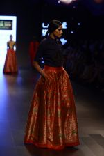 Model walk the ramp for Payal Khandwala Show at Lakme Fashion Week 2016 on 28th Aug 2016 (137)_57c3c6b928291.JPG
