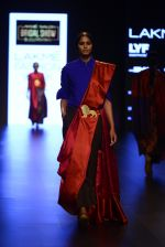 Model walk the ramp for Payal Khandwala Show at Lakme Fashion Week 2016 on 28th Aug 2016 (237)_57c3c896957d8.JPG