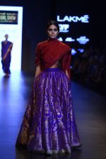 Model walk the ramp for Payal Khandwala Show at Lakme Fashion Week 2016 on 28th Aug 2016 (269)_57c3c92387108.JPG