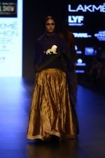 Model walk the ramp for Payal Khandwala Show at Lakme Fashion Week 2016 on 28th Aug 2016 (78)_57c3c592e8acc.JPG