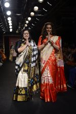Bipasha Basu walk the ramp for Sanjukta Dutta Show at Lakme Fashion Week 2016 on 28th Aug 2016 (1)_57c52ec952305.JPG